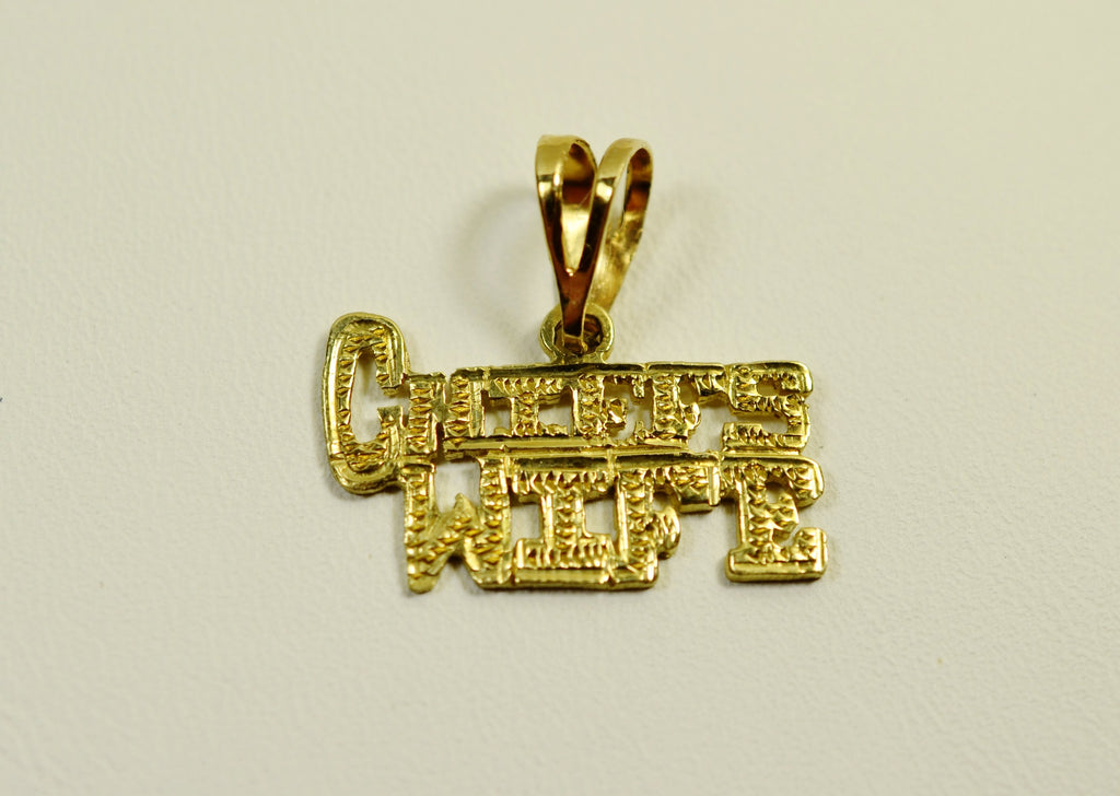14K Yellow Gold Chief's Wife