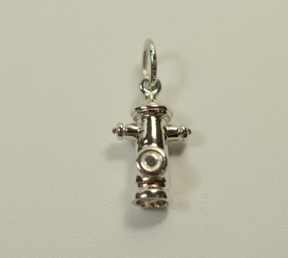 Sterling Silver Fire Hydrant High Polish