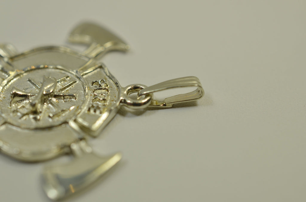 Maltese Cross with Axes