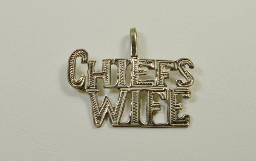 Sterling Silver Chief's Wife