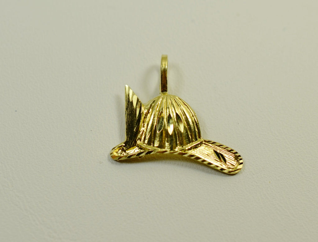 14K Yellow Gold Hat <br>1506</br>