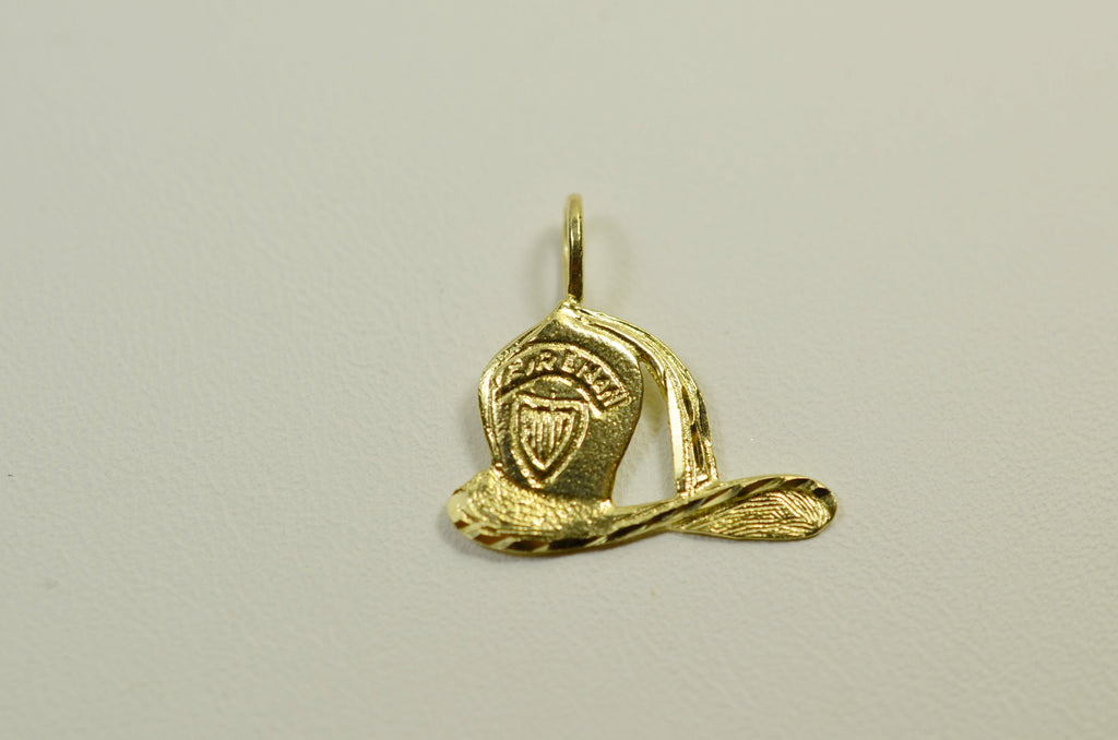 14K Yellow Gold Captain Hat <br>1508</br>