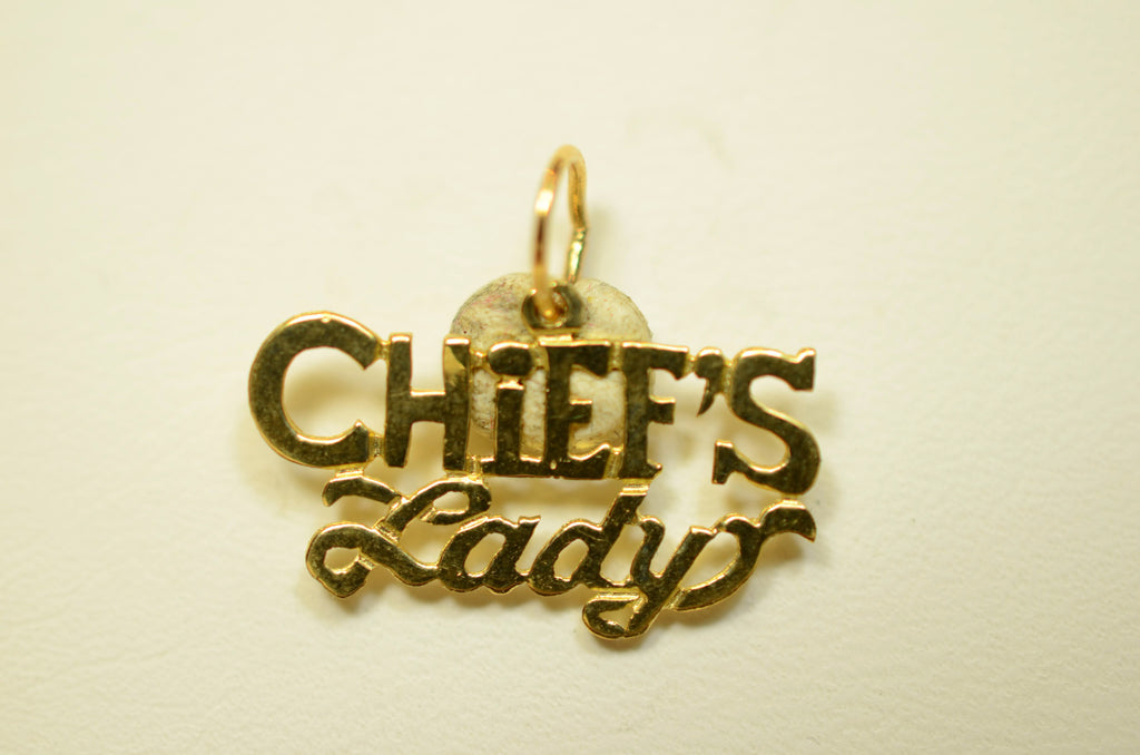 14K Yellow Gold Chief's Lady <br>30605</br>