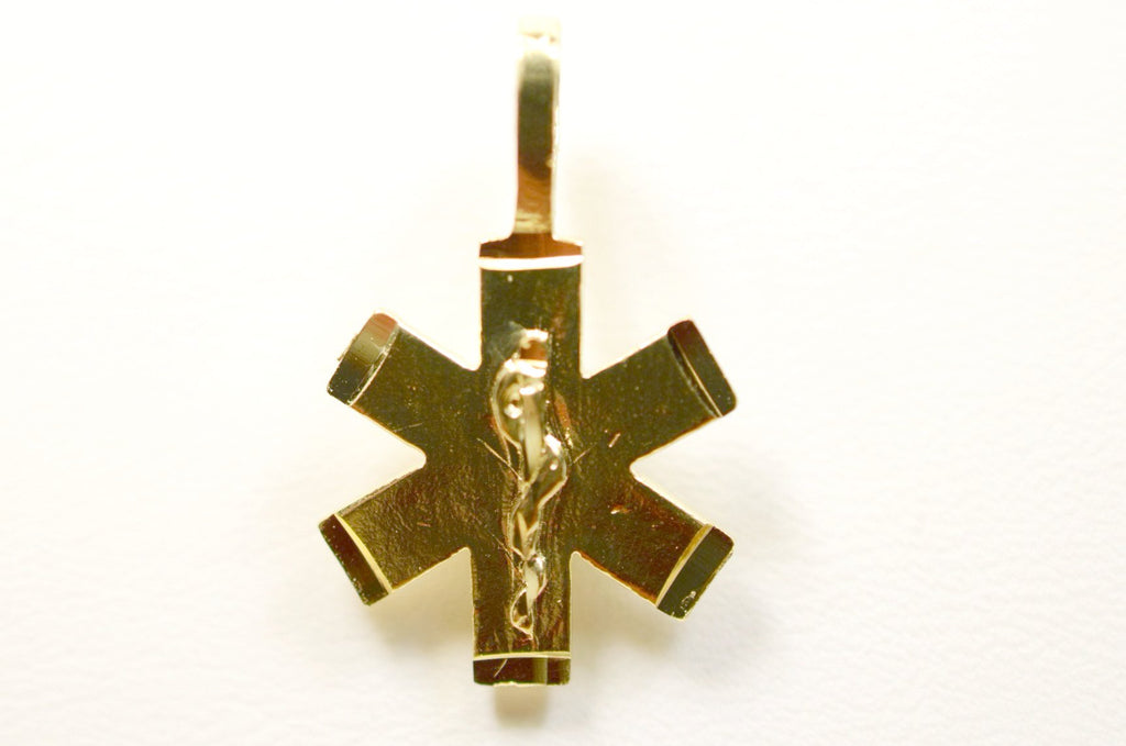 14K Yellow Gold Star of Life