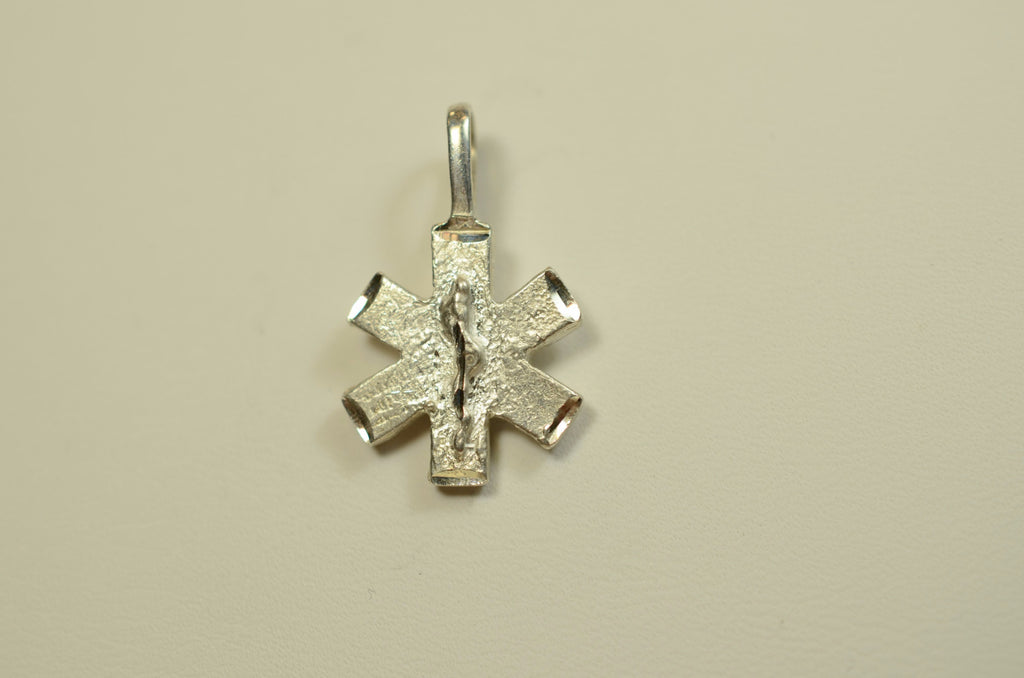 Sterling Silver Star of Life