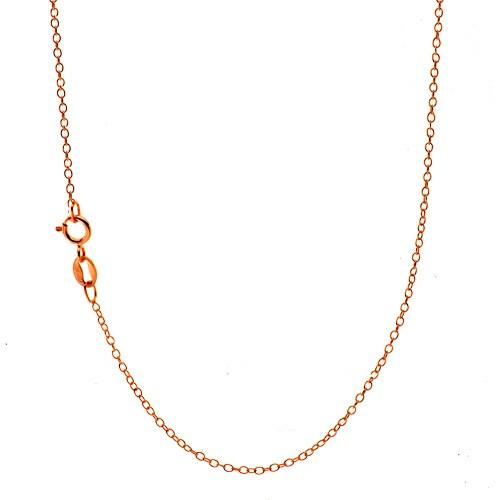 14K Rose Gold Cable Chain