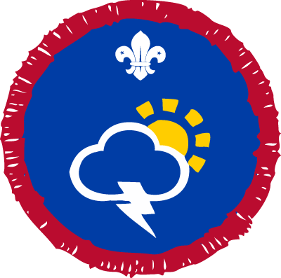 Scout Meteorologist Activity Badge