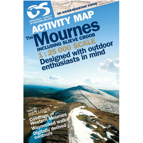 Laminated Mournes Activity Map