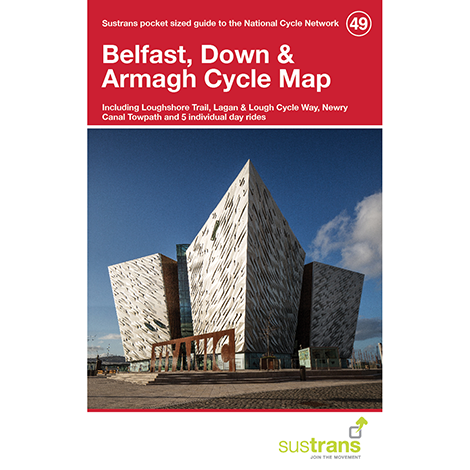 Belfast, Down & Armagh Cycle Map (49)