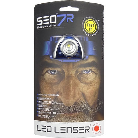 LED Lenser® SEO 7R Rechargeable LED Head Torch