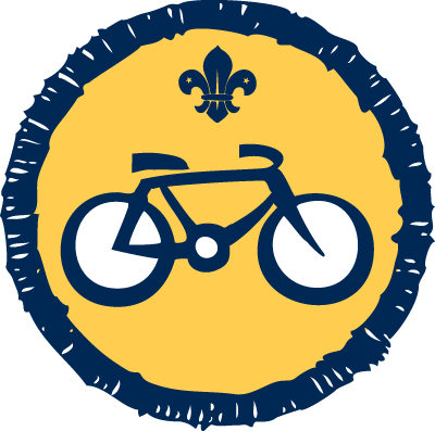 Beaver Cyclist Activity Badge