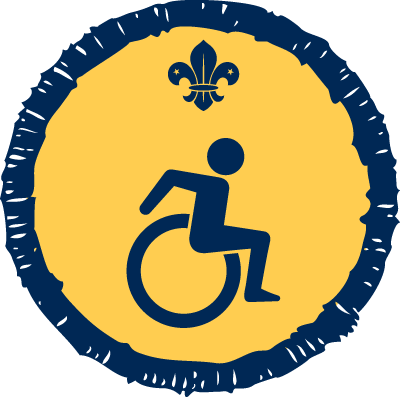 Beaver Disability Activity Badge