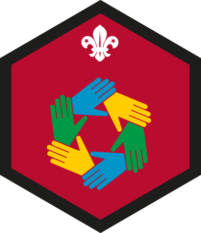 Beaver Teamwork Challenge Badge