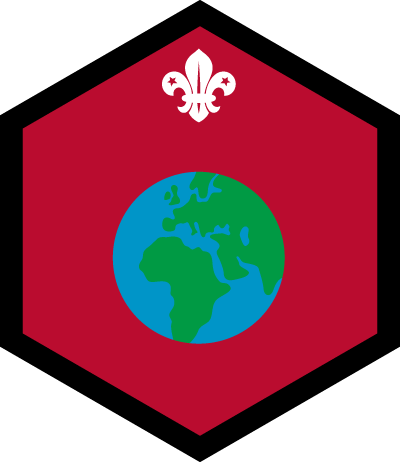 Beaver World Challenge Badge