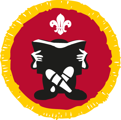 Cub Book Reader Activity Badge