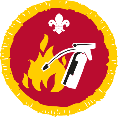 Cub Fire Safety Activity Badge