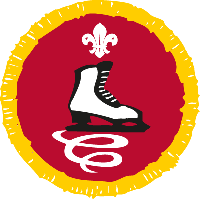 Cub Skater Activity Badge