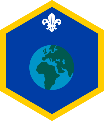 Cub World Challenge Badge