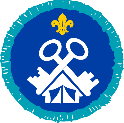 Explorer Activity Center Service Badge
