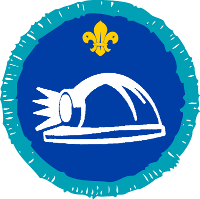 Explorer Caving Activity Badge