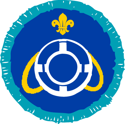 Explorer Lifesaver Activity Badge