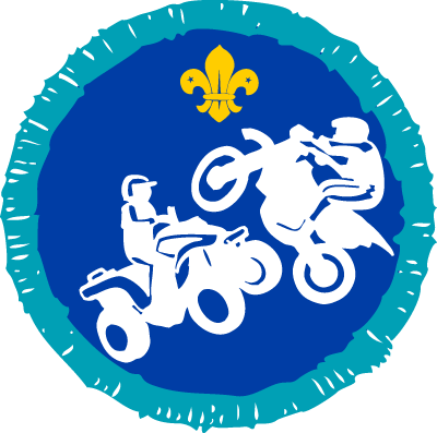 Explorer Motor Sports Activity Badge