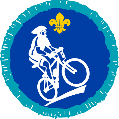 Explorer Mountain Biking Activity Badge