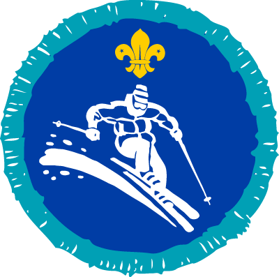 Explorer Skiing Activity Badge