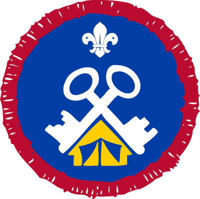 Scout Activity Center Service Badge