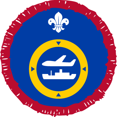 Scout Air and Sea Nav Activity Badge