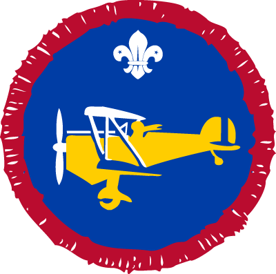 Scout Air Researcher Activity Badge