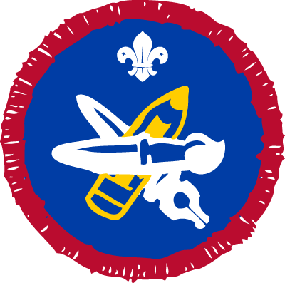 Scout Artist Activity Badge
