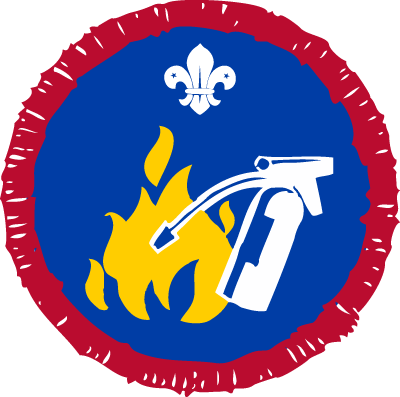 Scout Fire Safety Activity Badge
