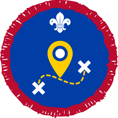 Scout Geocaching Activity Badge