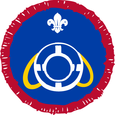 Scout Lifesaver Activity Badge