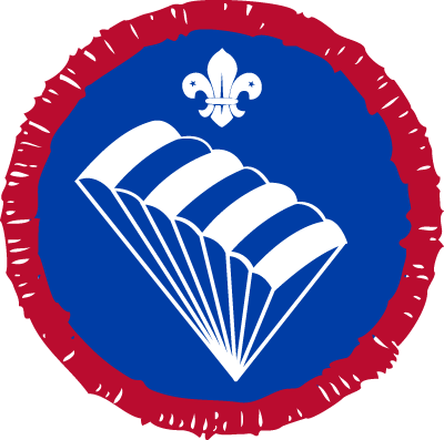 Scout Parascending Activity Badge