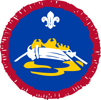 Scout Pulling Activity Badge