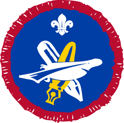 Scout Writer Activity Badge