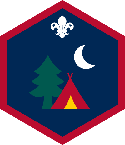 Scout Outdoors Challenge Badge