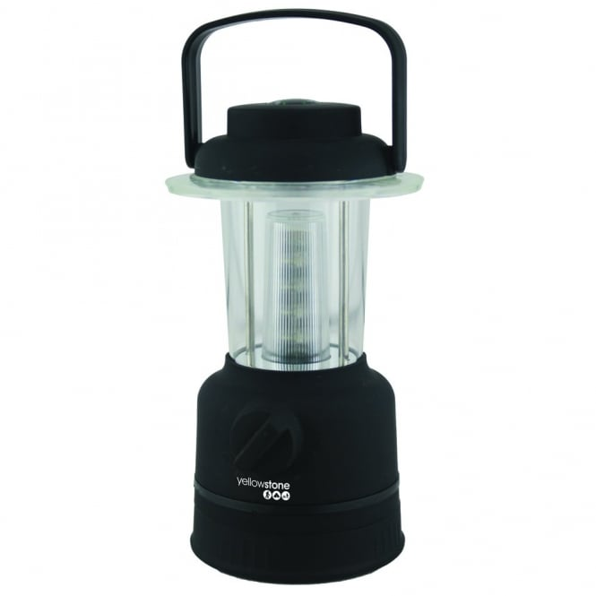YELLOWSTONE 12 LED Lantern - Black