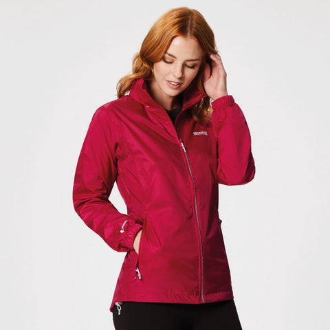 Women's Corinne IV Lightweight Waterproof Jacket Dark Cerise