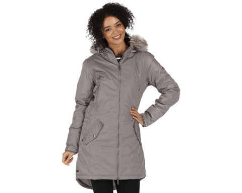 LUCETTA WATERPROOF INSULATED PARKA JACKET SAND