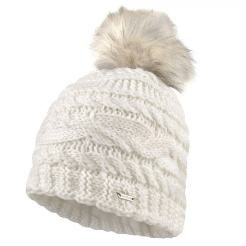 Women's Faux Fur Bobble Hat