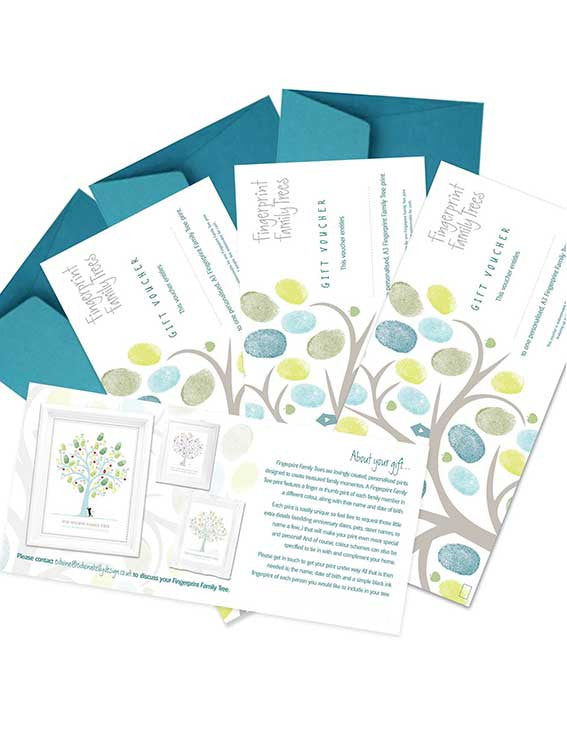 Fingerprint Family Tree Gift Voucher