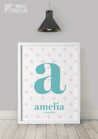 Personalised Starscape print
