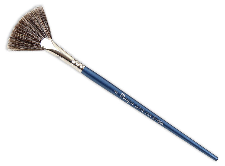 #4 Glaze Fan Brush