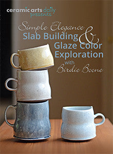 Simple Elegance: Slab Building & Glaze Color Exploration with Birdie Boone