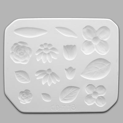 Flowers & Leaves Press Mold