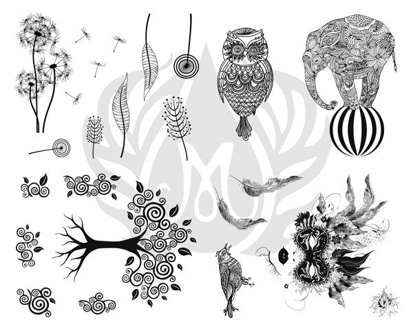 DSS0116 Stylized Designs