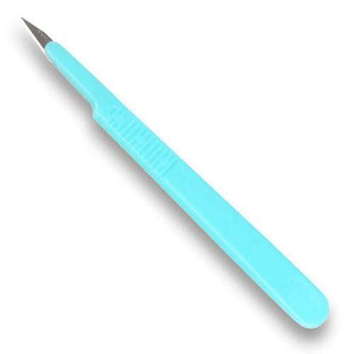 PLASTIC HANDLE SCALPEL